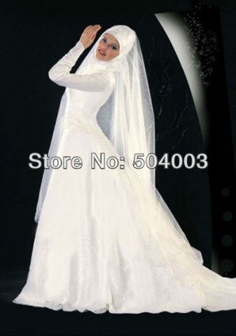 Free shippping a line skirt with long sleeves white super for Super cheap wedding dresses
