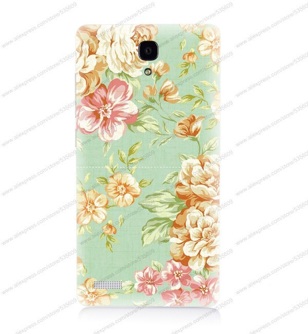 Accessory Cartoon New Cover Skin Hard Case for For Red Rice Note with Gfit Free Shipping