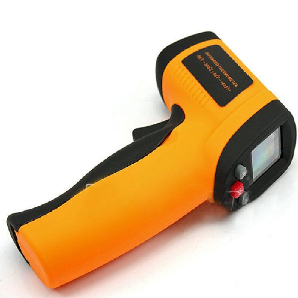Free Shpping GM550 Digital infrared Thermometer Pyrometer -50 C -550 C Acquarium laser Thermometer Outdoor thermometer(China (Mainland))
