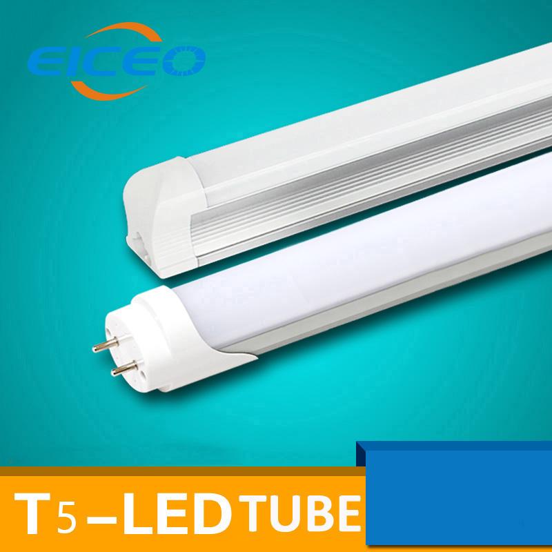 4pcs T5/T8 LED Tube Light 300/600/900mm 220V 240V Free Shipping Fluorescent Lamp Bracket Lamp Lighting Light Tube(China (Mainland))