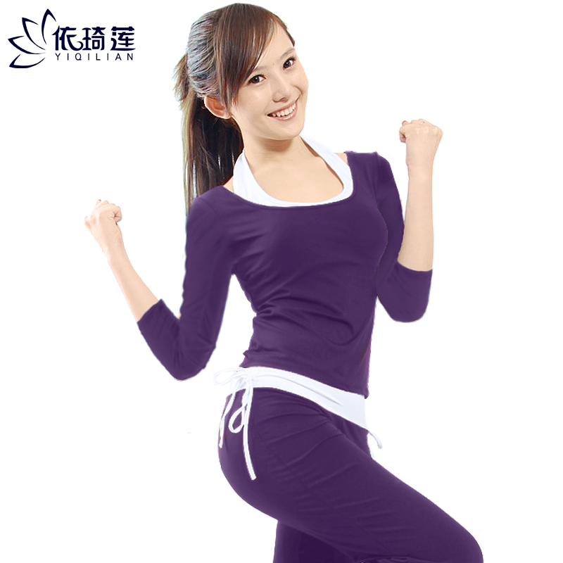 Autumn And Winter Long Sleeve Yoga Clothes Set Women's