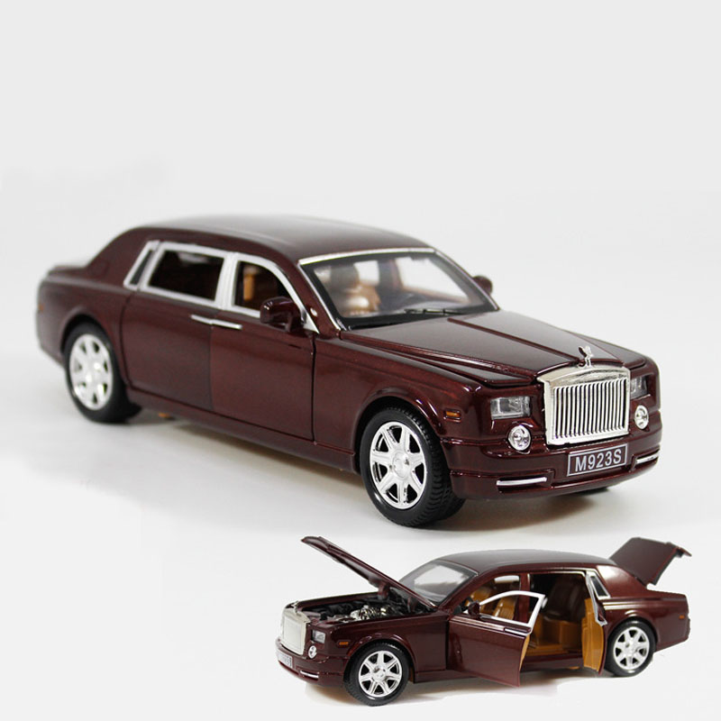 1/24 Car Models Phantom Lengthened Car Diecast Metal Six-door Alloy Car Models Simulation Toys Gifts Collections car Accessories(China (Mainland))