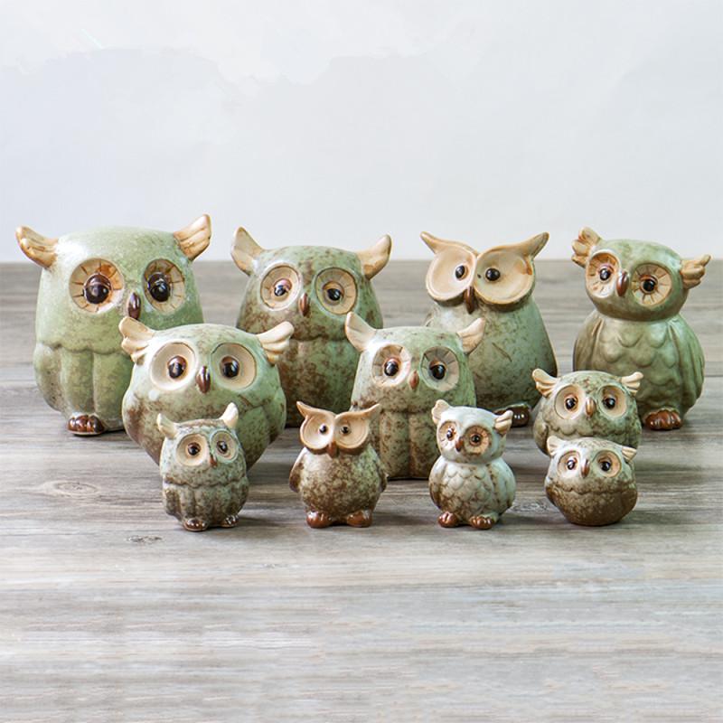 Buy Aibei Zakka Japan Style Ceramic Owl
