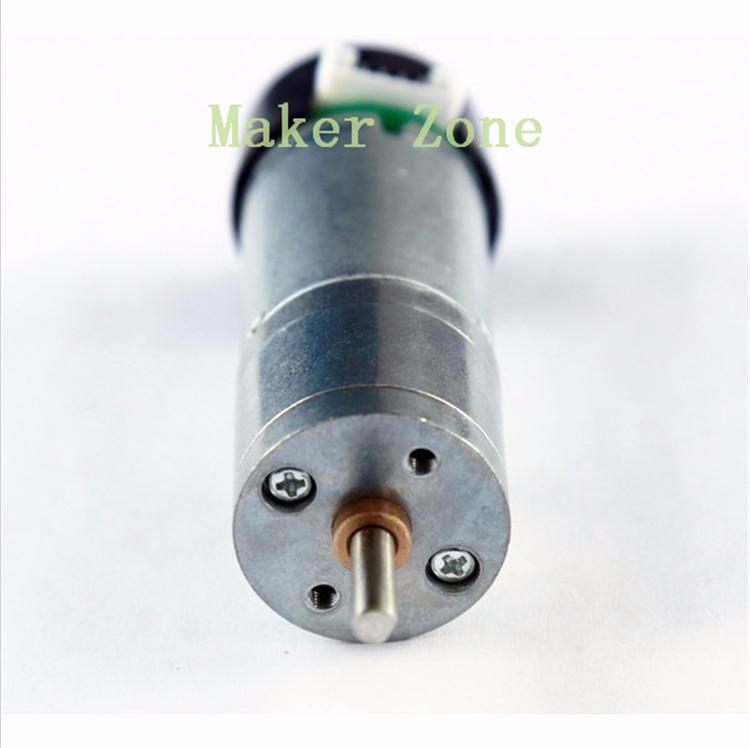 Dc motor gm25 370 25 high torque with hall sensor metal for Measuring electric motor torque