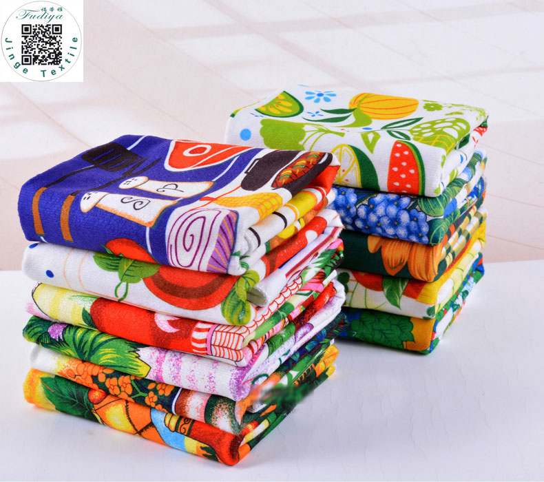Online Buy Wholesale Purple Kitchen Decor From China: Online Buy Wholesale Printed Kitchen Towels From China