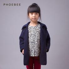 Suéteres de punto de invierno con cuello para niñas – Talla 3-8
