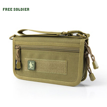 FREE SOLDIER Card & id holders phone cases brand Wallet Dupont Teflon fabric YKK Zipper Handybag()