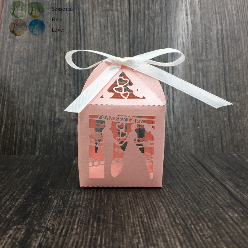 Wedding Party Gifts For Groom : favors and gifts for guest laser candy box bridge groom wedding party ...