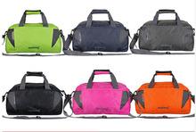 Женщины мужская дорожная сумка большая емкость нейлон спортивную сумку переносной сумки с застежкой-молнией путешествия рюкзак спортивные сумки