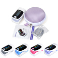 ELERA Health care Portable Finger Pulse Oximeter WITH CASE Fingertip Blood Oxygen Saturation Oximetro de dedo Monitor Beep Alarm