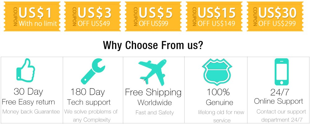 coupon+why choose from us