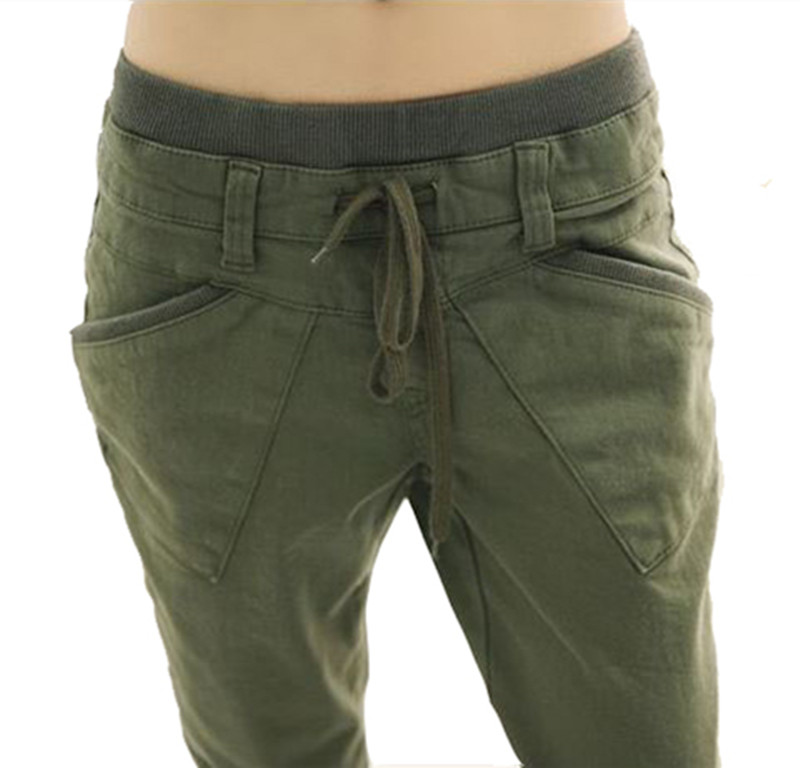 Awesome  Womens Army Green Camouflage Wide Combat Trousers Cargo Jeans Pants