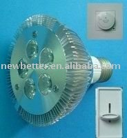 Free shipping,high power,long life span,5x1W led PAR30 light with Edison led, CE, RoHs,FCC,good quality and beautiful outer