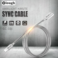 Elough Newest USB Charger All Metal Micro USB Cable For iPhone 6 7 5 i6 Samsung