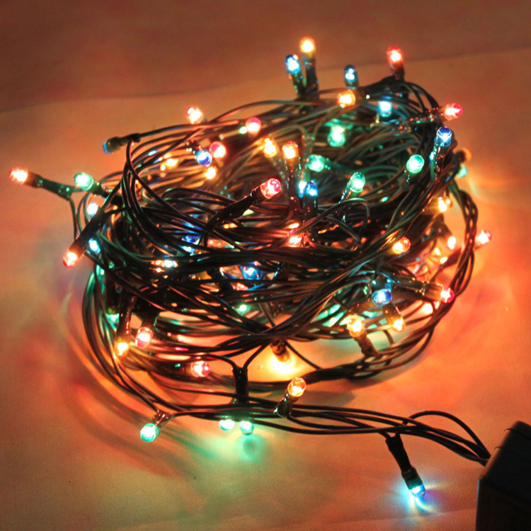 How To String Lights On A Large Christmas Tree : 4 m LED lantern flashing Christmas lights Christmas tree lights string lights holiday lights-in ...