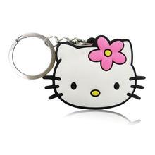 20 pçs/lote Anime Dos Desenhos Animados Olá Kitty PVC Encantos Keyring Favores Do Partido Caçoa o Presente Chave Cobre Saco Correias Acessórios Jóias(China)