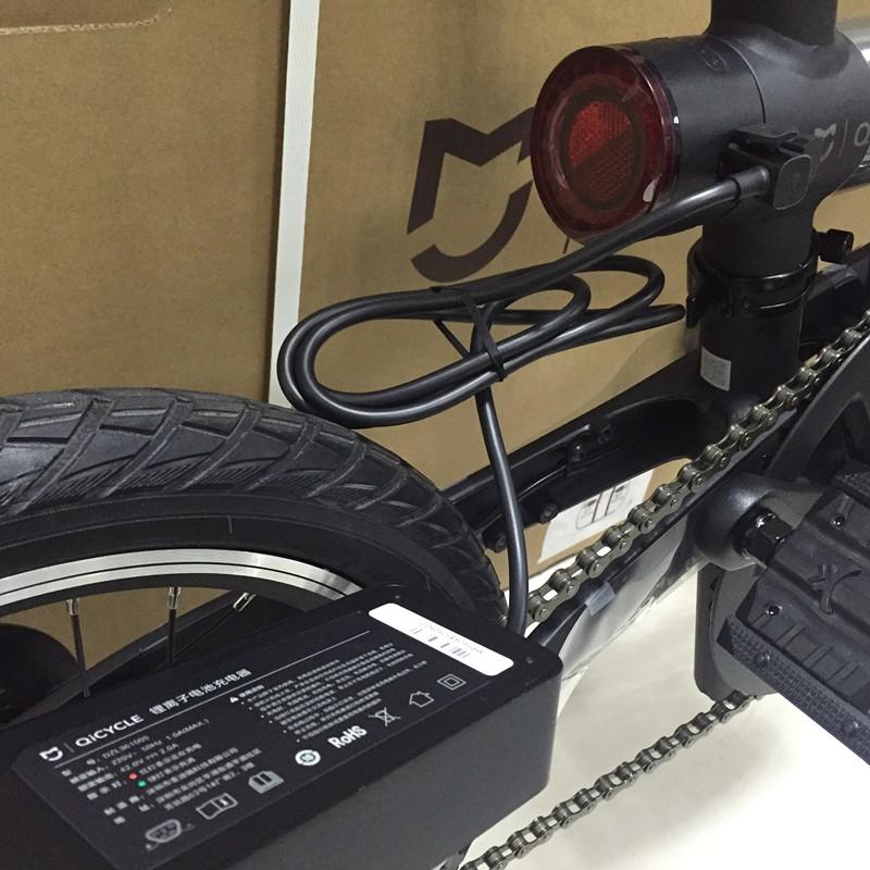 "original xiaomi smart electric bicyle EF1 portable mijia Qicycle e bike foldable pedelec ebike with 1.8"" TFT screen monitor"