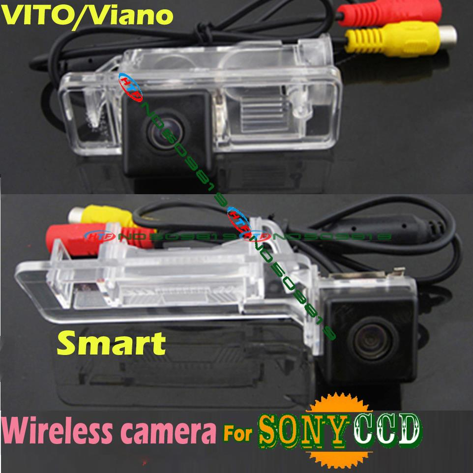 wireless ccd Car rear view parking Camera sony HD Benz Mercedes Viano Vito Sprinter smart waterproof wide angle - Tittle's store