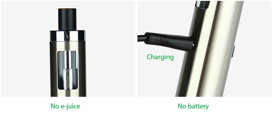 ถูก ของแท้100% Kanger EVOD PROบุหรี่อิเล็กทรอนิกส์Starter Kitกับ4มิลลิลิตรE-ของเหลวความจุEcig Vapeชุดโดยไม่ต้อง18650แบตเตอรี่