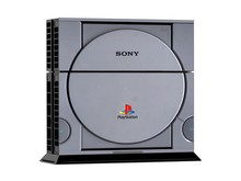 PS1 Style Decal Skin Ps4 console Cover For Playstaion 4 Console PS4 Skin Stickers 2Pcs Controller