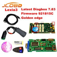 2016 Newest V7.83 with 921815C Firmware lexia ! Hot Lexia3 PP2000 V48/V25 Lexia 3 Diagbox 7.83 For Citroen Peugeot Free shipping(China (Mainland))