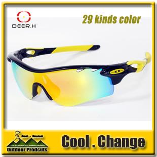 Deer.H TR90 Frame Polarized Lens Cycling Bicycle Bike Fishing Outdoor Sports Sun Glasses Sunglasses - Guangzhou Queshark & Technology Co.,Ltd store