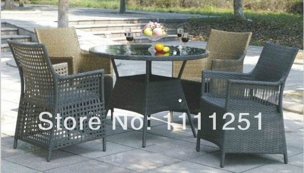 All Weather Rattan Garden Furniture Dining Set(China (Mainland))