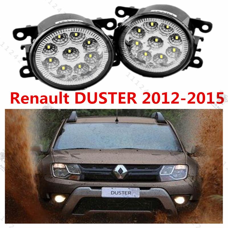 For RENAULT DUSTER 20011/12/13/14/15 Front bumper light Original Fog Lights LED lamp Halogen car styling OEM.8200074008-1209177<br><br>Aliexpress