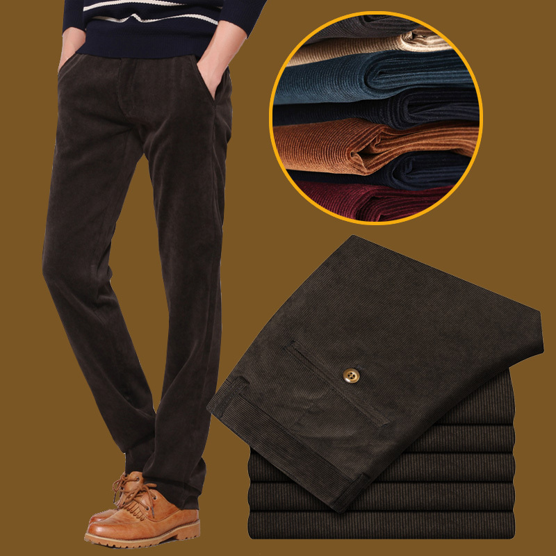 2015 Autumn winter pants fleece wolfskins windproof soft shell thickening plus size 28-38 - Man Show store