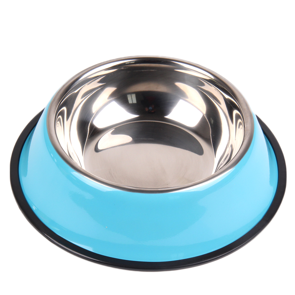 Sport Travel Pet Dry Food Cat Bowls For Dogs Pink Dog