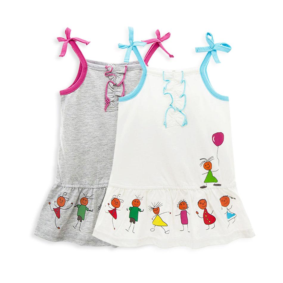 Baby Girl Clothes Summer Frock Designs 1 Year Sleeveless Birthday Tutu Dresses  -  KAVKAS 206 Store store