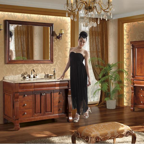 Floor Standing Mirrored Commercial Economic Bathroom