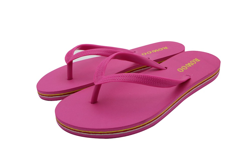 3 Colors New Brand Flip Flops Women Sandals 2016 Women's Striped Shoes Summer Designer Slippers Female Flat - ROWOO CO., LTD. store