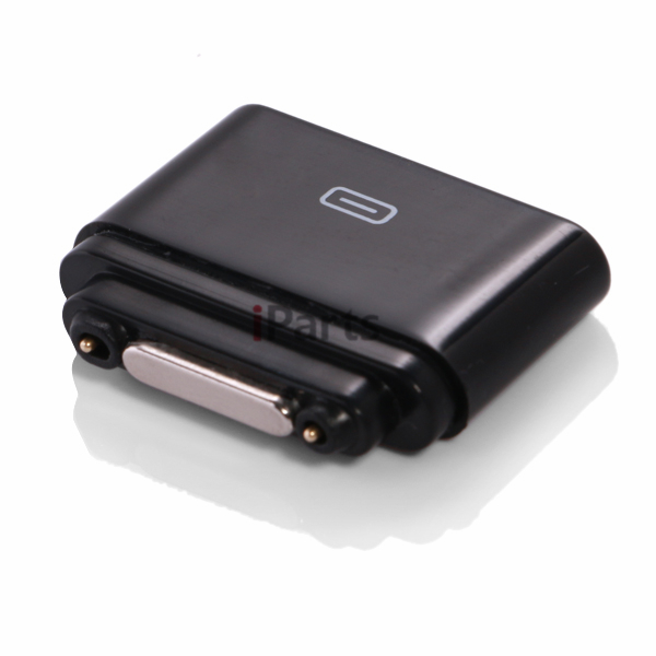 2 Pcs Brand New Micro USB to Magnetic Charger Port Adapter for Sony Xperia Z Ultra XL39h Black Free Shipping