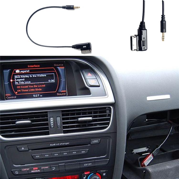 New Fashion USB Audi Music Interface AMI MMI AUX Cable for car A3 A4 A5 A6 A7 A8 Q5 Q7 R8 TT free shipping(China (Mainland))