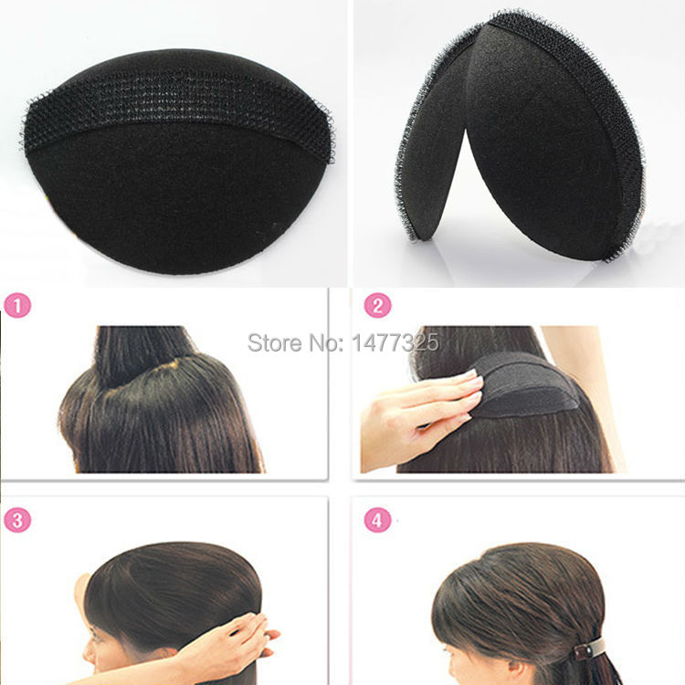 2pcs/Set Magic DIY Hair Fluffy Sponge Princess Head Secret Updo Tuck Fashion Hair Styling Accessories(China (Mainland))