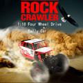 RC Car 1 18 2 4G 4CH 4WD Rock Crawlers Buggy Car Double Motors Truck Bigfoot
