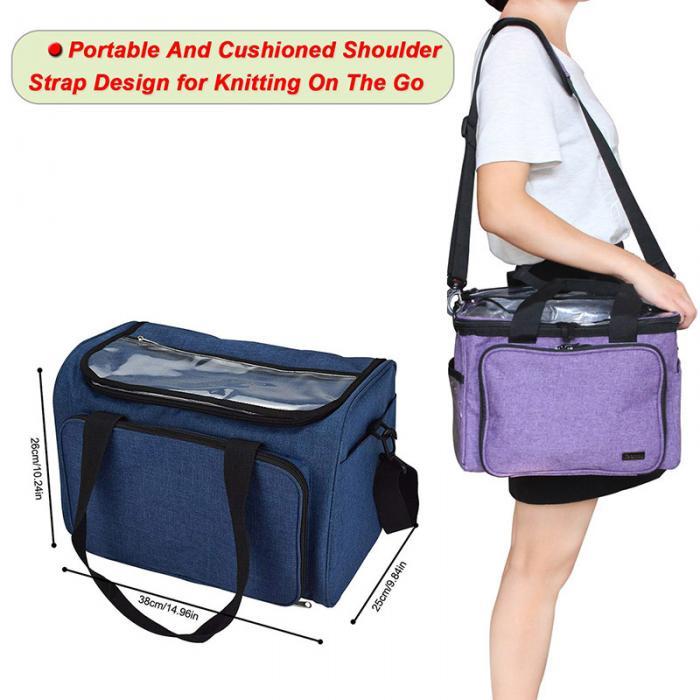 Водонепроницаемая сумка для хранения с ручками на молнии путешествий HTQ99