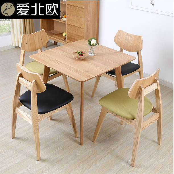 Asian style square dining table