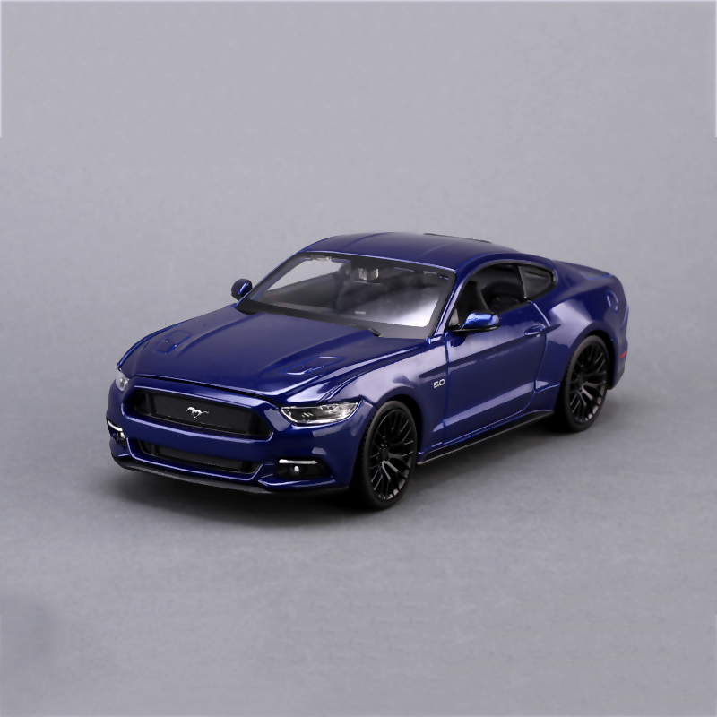 Mustang 1:24 Diecast Model Car Mustang GT Blue Red 1:24 Alloy Car Model Toy Vehicle Model Cars Alloy Model Toys Gift Kid Toy(China (Mainland))
