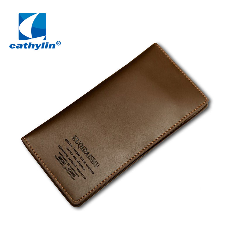 New Fashion Genuine Real and PU Leather Soft Touch Men s Wallet Purse with Card Holder