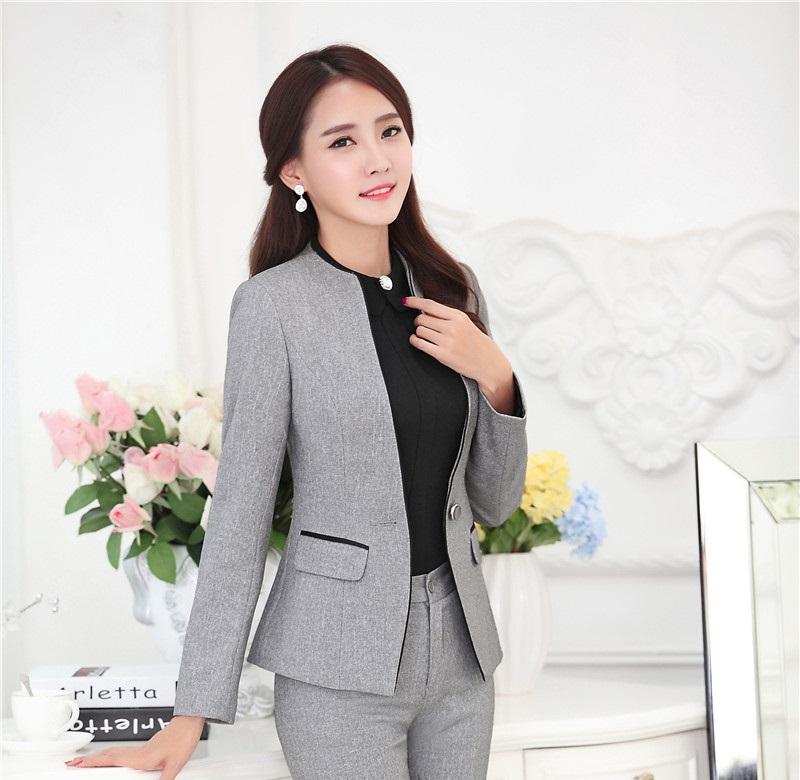 New Fashion 2015 Autumn Winter Female Blazers Jackets Coat Professional Ladies Office Blazer Tops Female Clothing Plus Size 4XL(China (Mainland))