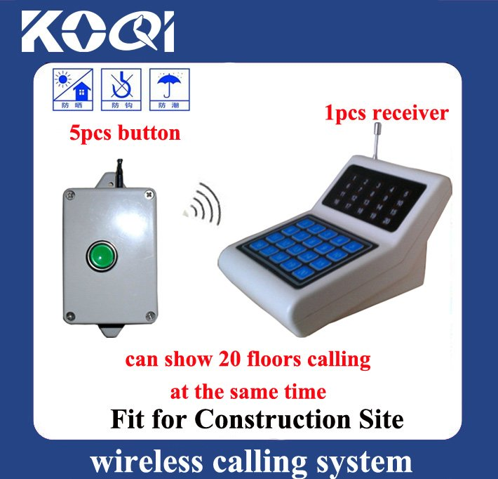 Building Site Call System ; Construction Site Calling System ; Construction personal paging system ; Sample order;DHL Free(China (Mainland))