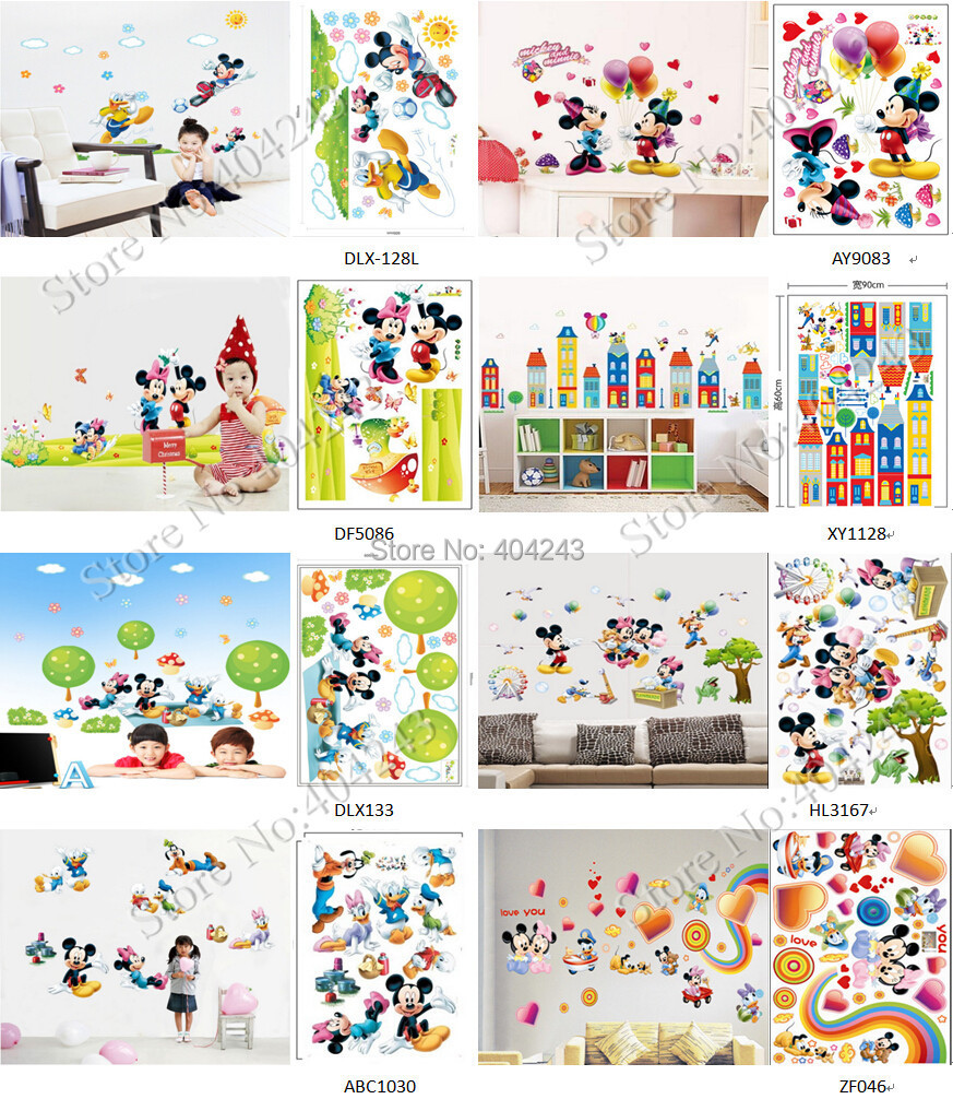 Large mickey mouse wall stickers the new sticker design large cartoon mickey mouse wall sticker mouse ergonomic picture more detailed picture about free express amipublicfo Image collections