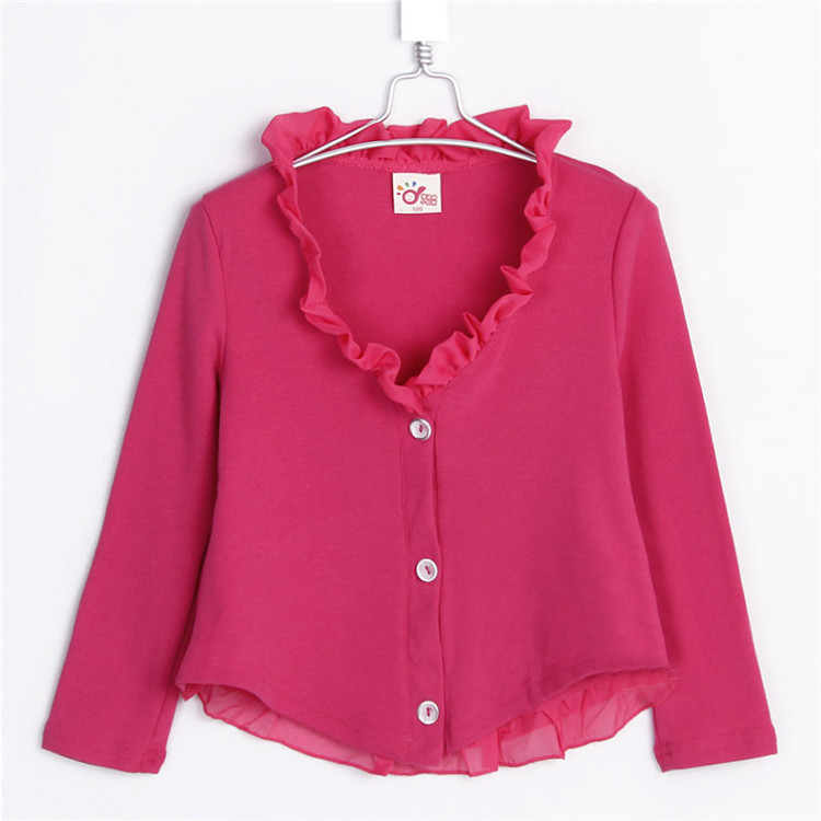 2015 spring and autumn dream chiffon girls coat baby child cardigan outerwear A1013(China (Mainland))