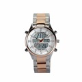 FR710A 5ATM Digital Watch Men s Quartz Watch With Steel Strap High Quality Golden Color