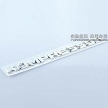 Silver Chrome ABS Mercedes KOMPRESSOR Car Tail Stickers Emblem Decorations KOMPRESSOR Exterior Accessories(China (Mainland))