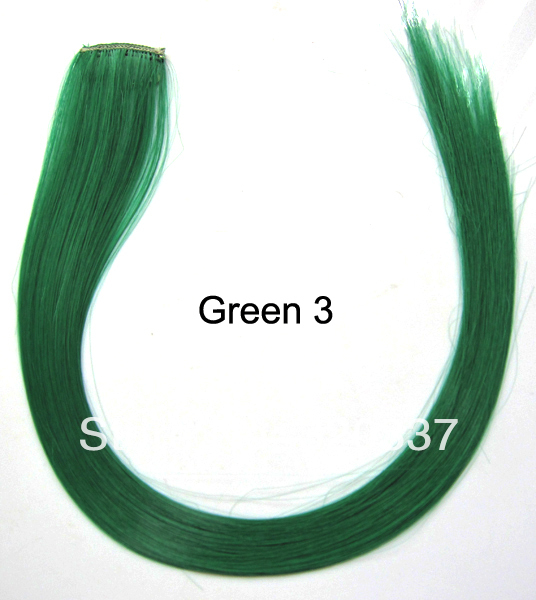 hot colorful hair extension highlight clip in hair