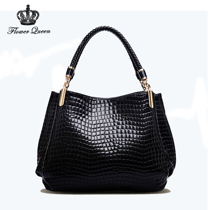 New 2015 Fashion Desigual Brand Bag Leather Women Handbag Shoulder Bags Crocodile Women Messenger Bags Bolsas School Bags(China (Mainland))