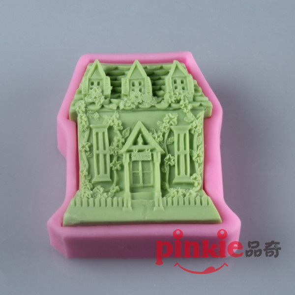 Cake Decorating Company Reviews : Big-House-Shaped-silicone-Soap-Mold-Resin-Clay-Chocolate ...